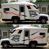 Two side RV Stripes Graphics Decals Car Stickers Vinyl Graphics for Caravan Travel Trailer Camper Van review
