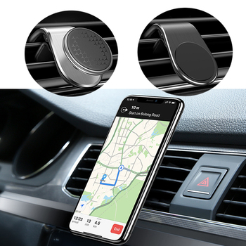 Magnetic Car GPS Phone Holder for Toyota chr auris yaris verso avensis corolla 2020 Renault Duster Megane 2 3 Clio 3 4 Trafic 2 image