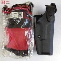 Tactical Gun Holster Glock Light Bearing Compact Pistol Waist Belt Holsters for Safariland Glock 17 19 22 23 31 32