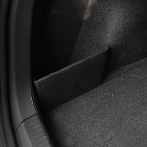 Image 2 - Xburstcar 자동차 트렁크 부팅 배플 파티션 부품 꼬리 상자 스토리지 액세서리 폭스 바겐 폭스 바겐 골프 7 7.5 MK7 MK7.5 2013   2019