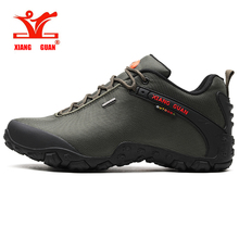 XIANG GUAN Men Trekking Sneakers Women Low Top Hiking Shoes Black Outdoor Jogging Trainers Climbing & Fishing Shoes цена и фото