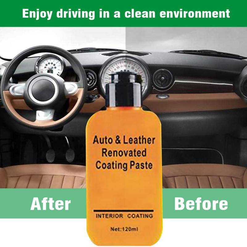 120ml Leather Repair Cream Automotive Interior Auto & Leather Renovated Coating Paste Maintenance Leather Refurbishing Cleaner