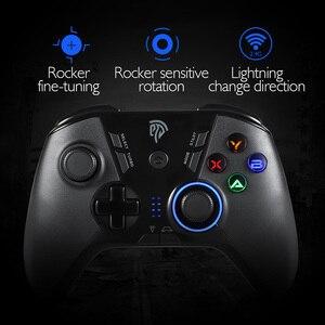 Image 5 - Easysmx ESM 9110 2.4g usb sem fio joystick gamepad para pc android caixa de tv telefone controlador jogo vibração gamepad para pc android