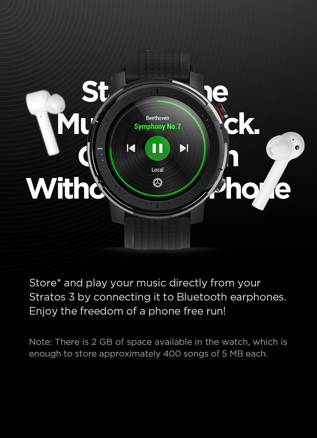 Amazfit Stratos 3 Smartwatch 10