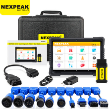 Nexpeak K3 OBD2 Scanner Heavy Duty Diagnostic Tool Voor Auto En Truck OBD2 Key Programmeur Kilometerteller Aanpassing Auto Diagnose