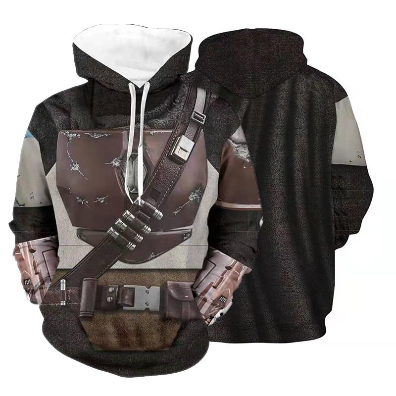 The Mandalorian Star Wars Cosplay Costume Hoodie 2