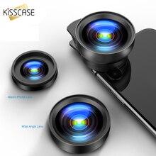 KISSCASE 2 In 1 Fisheye Lens Wide Angle Macro Phone