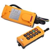 HS 10 Industrial wireless Crane Radio Remote Control System 1 Transmitter 10 Channels 1 Speed Control Hoist OBOHOS Remote Switch