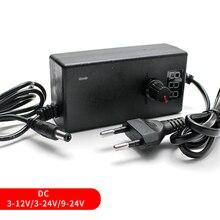 AC DC 3V 5V 24V 12V 24V Adjustable Power Supply Source 1A 2A 5V 12V 24V Switching Power Supply AC-DC Display Screen Mean Well стоимость