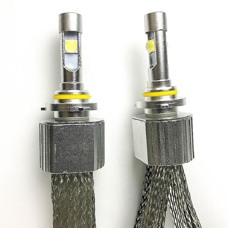 Fanless led 12V 110w 13200lm 6000k CR-EE XHP70 LED car headlight h7 h11 9005 9006 9012 h1 H4 HI/LO beam auto headlight LED