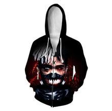 xxxtentacion 3D Printed Men Hoodies Autumn Spring  Zipper Hooded Harajuku Hiphop Sweatshirts