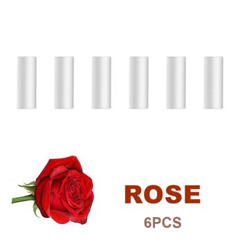 6 sztuk dyfuzor do perfum Refill solidna gąbka zapach róża truskawka cytryna zapach zapach zapach odświeżacz powietrza do samochodu NOS butelka tanie i dobre opinie KOM POWER CN (pochodzenie) Vent Outlet 16mm Lemon Z tworzywa sztucznego Stałe
