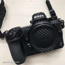 Kamera için cilt çıkartma Nikon Z6 Z7 D750 D850 D810 Anti scratch çıkartma kaplama Wrap kapak koruyucu kılıf