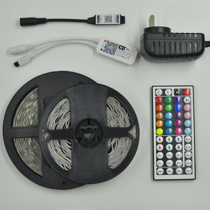 Светодиодная ленсветильник SMD2835/5050 холодный белый/теплый белый/холодный синий/красный/зеленый/синий, 5 м|Светодиодные ленты| | АлиЭкспресс