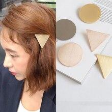 Fashion Metal Hair Clips Women Geometric Hair Clip Delicate
