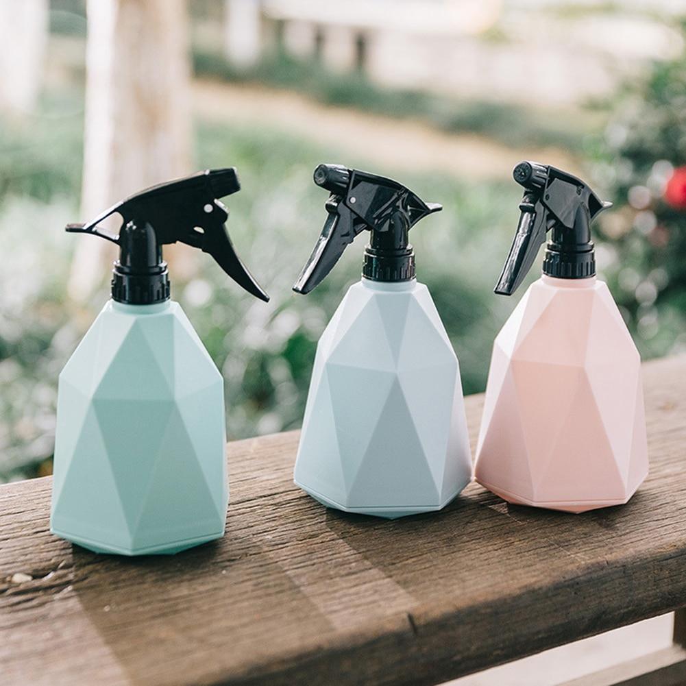 600ml Multipurpose Plastic Spray Bottle Watering Plants Pot  Makeup Moisture Disinfection Liquid Atomizer Bottle Tool