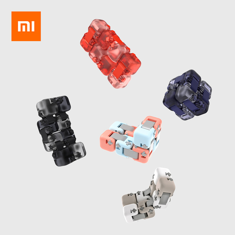 Original xiaomi mitu Cubes Spinner Finger Bricks Intelligence Toys Smart Fidget Magic Cubes Infinity Toys Anti Stress Anxiety Lahore