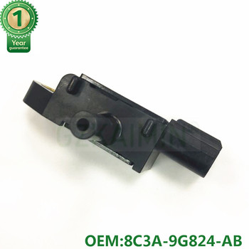 Wysokiej jakości OEM 8C3A-9G824-AB 8C3A-9G824-AA DPF czujnik ciśnienia różnicowego pasuje do forda tanie i dobre opinie GZKAIMIN Czujnik Ciśnienia spalin CN (pochodzenie) Typ warystora Piezoelektryczny Sygnał napięciowy