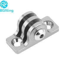 Aluminum Universal Camera Holder Base Connector CNC Low Angle Flat Bottom Adapter