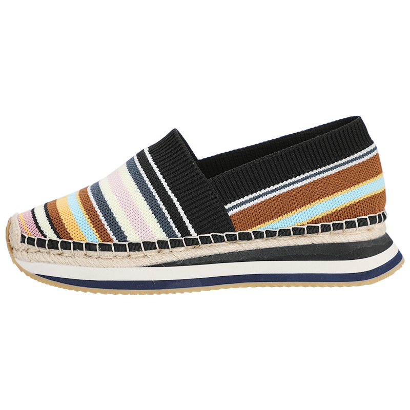 Tienda Sloludos Espadrilles Shoes Wedges Round Toe Casual Eva Mary Janes Mesh (air Mesh) Leisure Elastic Band