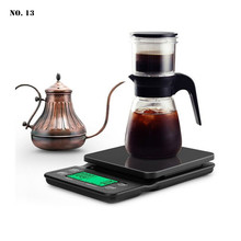 3kg/5kg Coffee Scale with Timer Portable Electronic Digital Kitchen Scale High Precision LCD Electronic Scales for Home, Cafe