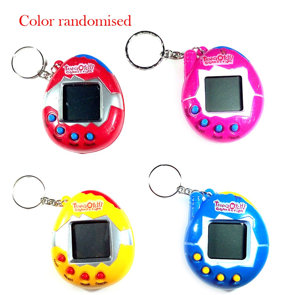 Lcd Cute Animal Network Virtual Digital Electronic Pet Game Machine Pet Learning Children Educational Toys