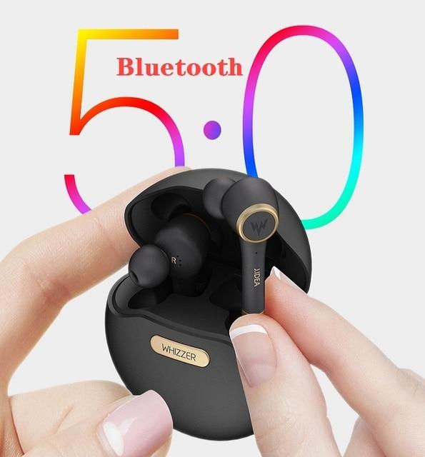 Whizzer TP1บลูทูธ5.0หูฟังไร้สายบลูทูธลดเสียงรบกวนในหูV50 3Dสเตอริโอกีฬา Наушники
