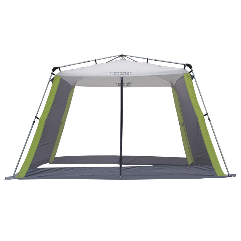 Quick Open Barbecue Self-driving Tour Sunscreen Beach Multi-person Canopy Rain And Mosquito Automatic Outdoor Courtyard Tent