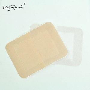 Image 3 - Gratis Verzending Waterdicht Ademend 30Pcs/3 Dozen 7.6cmX10.1cm Grote Band Aid Ehbo Bandages Voor Grote Wonden