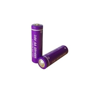Image 1 - 10 個 3.6 V ER14505 14505 2400 1800mah の単三 LiSCLO2 バッテリー優れた LR6 R6P 1.5 V 電池 Gps のトラッキングカメラメモリバックアップ