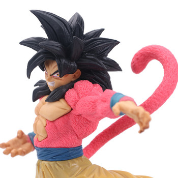 Dragon Ball SUPER Figurine Son Goku Super Saiyan 4 Son Gokou  PVC 20CM Action Figure Collectible Model Toy Doll new 20cm dragon ball z goku figure toy son goku jump 50th anniversary anime dbz model doll gift for children action figure toys