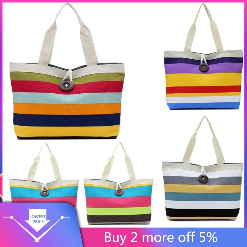 2017 New Fashion Lady Shopping Bags Shoulder Canvas Female Womens Bag Tote Purse Bolsa Feminina