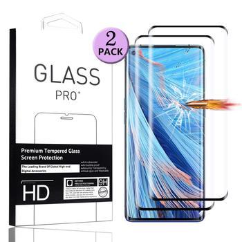 Перейти на Алиэкспресс и купить 3D полное покрытие экрана протектор для Oppo Find X2 Neo закаленное стекло для Oppo Find X2 Pro защитная пленка Oppo Find X2 Lite