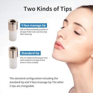 Image 5 - Newdermoポータブルモンドマイクロダーマブレーション皮膚剥離機2ダイヤモンドヒント家庭顔マッサージにきび削除スキンケアツール