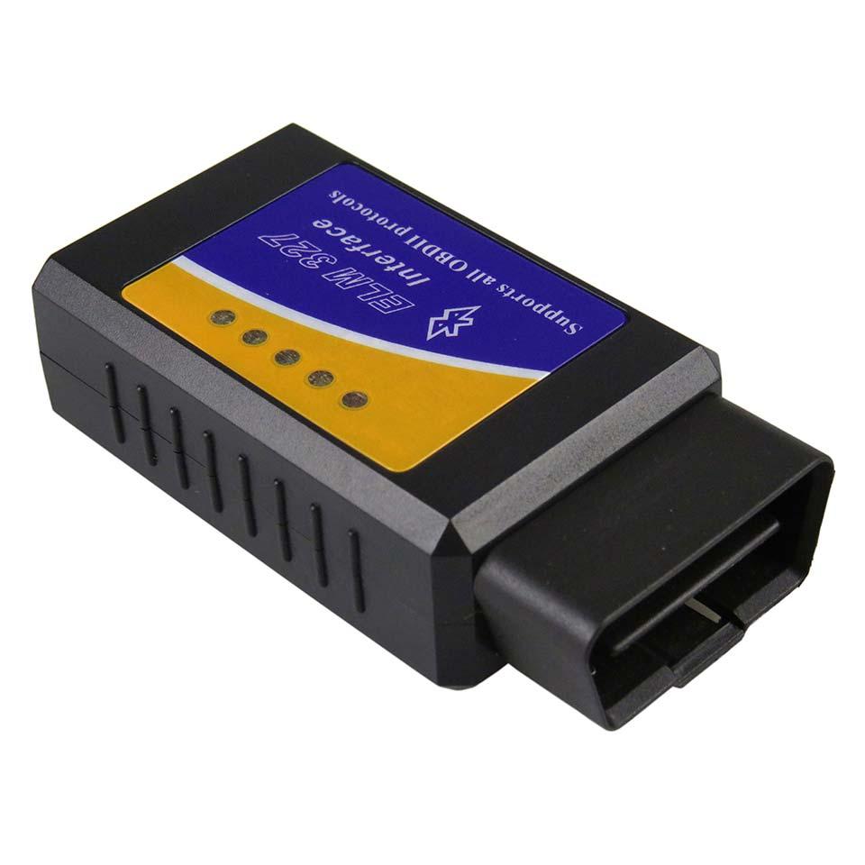 Новый ELM327 Bluetooth V1.5 OBD2 автомобильный диагностический сканер для Android v 1,5 ELM 327 Bluetooth адаптер OBD 2 считыватель диагностический инструмент
