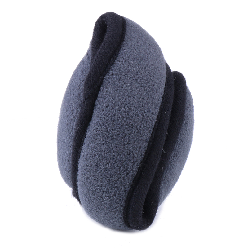 Winter Men Earmuffs Women Ear Muffs Pashmina Ear Warmer Foldable Adjustable Faux Cashmere Ear Cover Earflap Warm Plush Back Wear