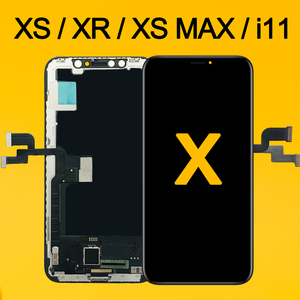 Image 1 - AAA Für iPhone X OLED LCD Display Für IPhone XS XR MAX Inell LCD 11 Touchscreen Digitizer Ersatz Montage teile OEM OLED