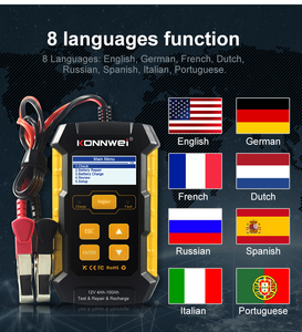Image 3 - Car Battery Charger Battery Analyzer Battery Voltage Tester Car Battery Repair Chargers Cricut Load Monitor Tool