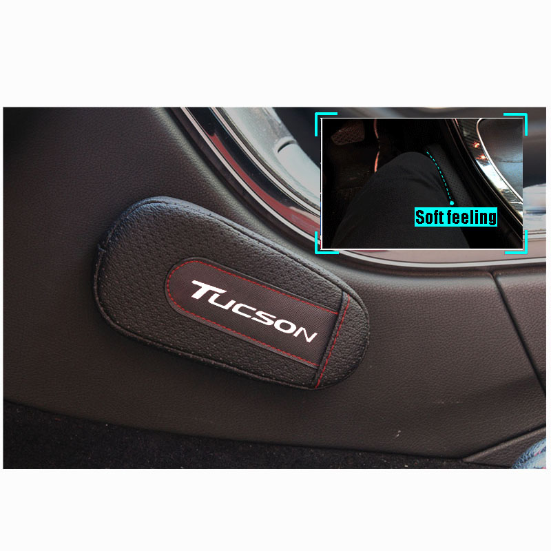 Stylish and comfortable Leg Cushion Knee Pad Armrest pad Interior Car Accessories For Hyundai Tucson