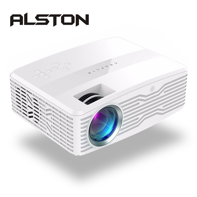 Portable Cinema Proyector Mysterious ALSTON Full-Hd 1080p Beamer AK30 HDMI USB 4k Led