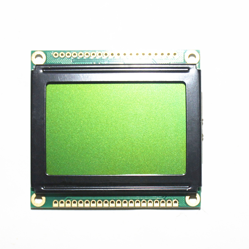 5v 12864 128*64 128X64 Graphic Dot LCD Module KS0107/8 Yellow Green/Blue LCD Display Size 54X50 DSO062 Oscilloscope
