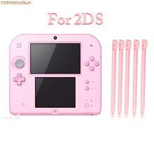 10 pièces rose en plastique stylet stylo écran tactile pour Nintendo 2DS Console de jeu écran tactile stylet pour Nintendo 2DS bleu rouge