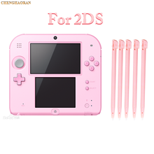 10pcs Pink Plastic Stylus Pen Screen Touch Pen For Nintendo 2DS Game Console Touch Screen Stylus Pen For Nintendo 2DS Blue Red