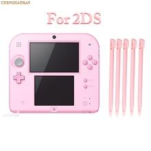 Bolígrafo de plástico Stylus de color rosa para Nintendo, lápiz táctil de pantalla táctil para consola de juegos 2DS, color azul y rojo, 10 Uds.