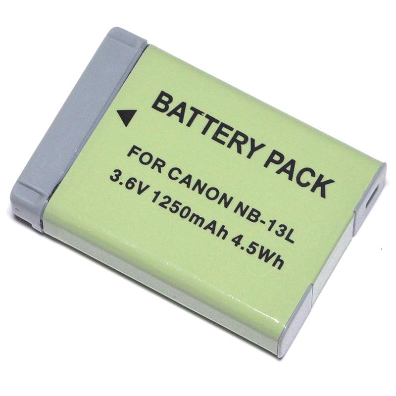 Cargador Batería Cámara Canon NB-13L Powershot G5X G7X G9X Mark II SX720 Hs SX620