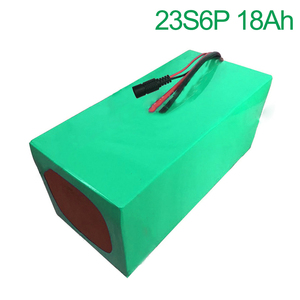 84V 18Ah 23S6P 18650 Li-ion Battery electric two Three wheeled motorcycle bicycle ebike 210*170*140mm