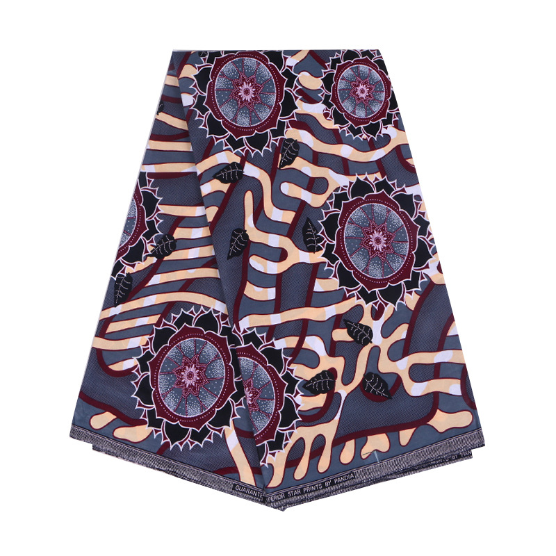 Veritable Wax Tissus Guaranteed Real Dutch Wax 6yard/lot 2019 100% Cotton Wax High Quality African Fabric Print