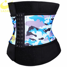 LAZAWG Women Waist Trainer Hot Sweat Belt Sauna Neoprene Girdle Weight Loss Strap Body Shaper Tummy Control Cincher Fajas
