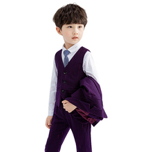 Boys Suits Blazer Formal Costume For Wedding Party Piano Boy