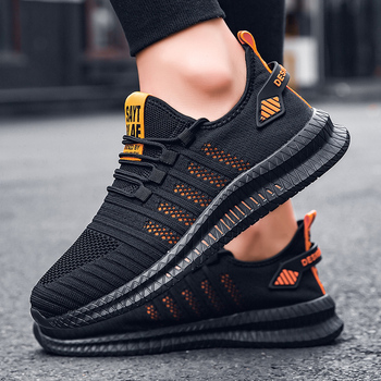 Mens Shoes Casual Comfortabl Breathable Running 46 Men Sport Mesh Trainers Sneakers 45 Jogging Footwear 47